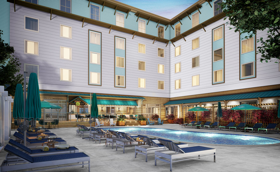 The new Compass Hotel Anna Maria Sound has six stories and 123 water-view rooms.