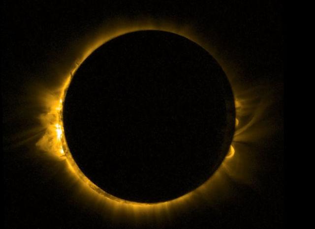 Total solar eclipse 2015 proba 2 uawedx