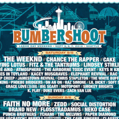 Bumbershoot 2015 zdnrmx