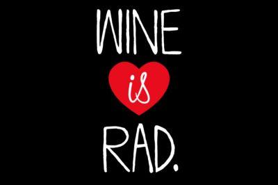 Wine is rad cvuayz