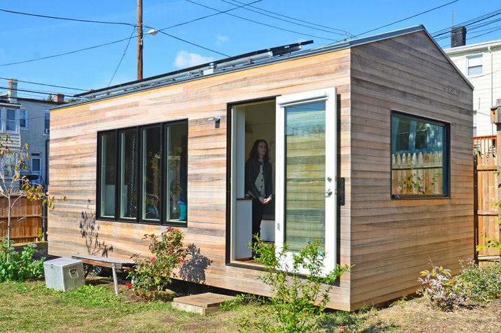 Minim house in boneyard studios tiny house village  o5b0ne