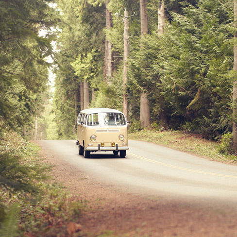 Vw van road trip o1csqo