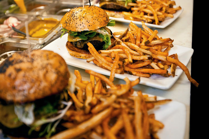 Noras table burger fries pnqypo