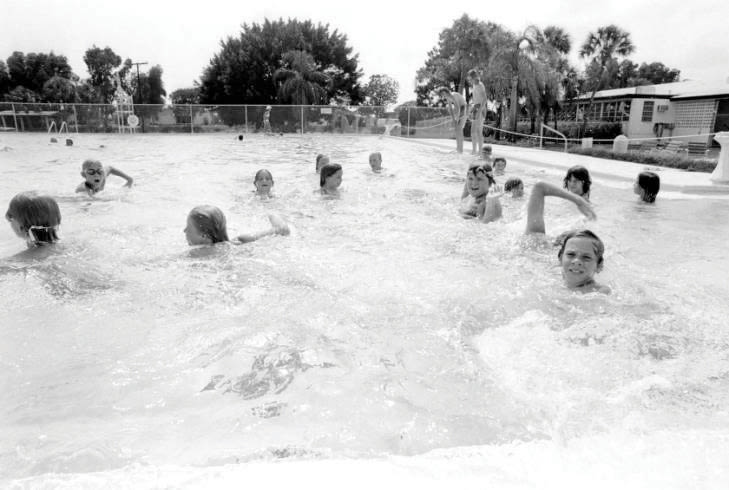 Bayshore Gardens' community pool