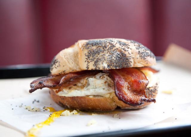 Bunk bacon egg and cheese nryxll