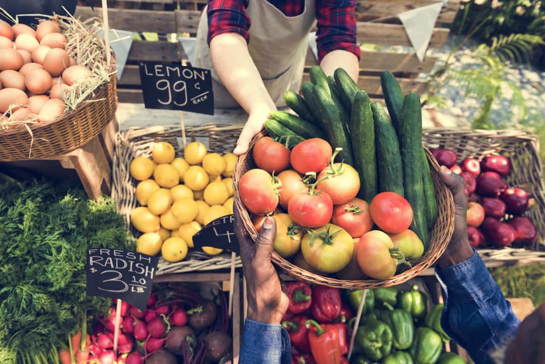 The downtown Sarasota farmers market reopens Saturday, Aug. 1.