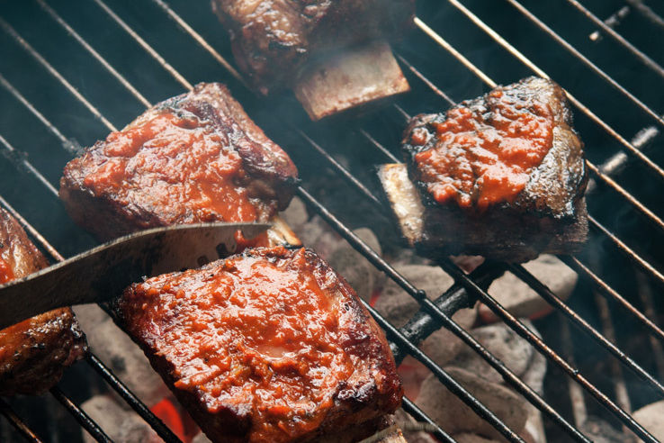 Grill meat aonrhf