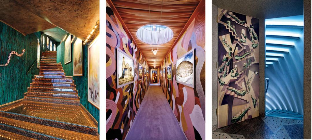 0214 barbis dream house hallway stairs iajkiq
