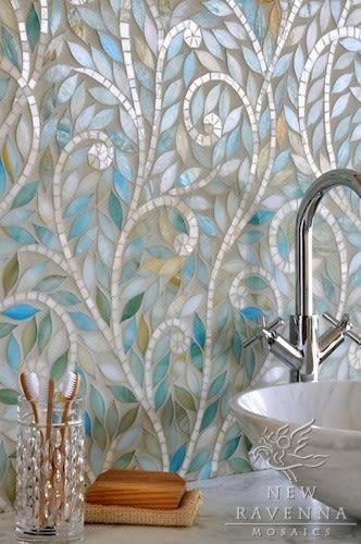 Marcia norris glass mosaic tile excc7p