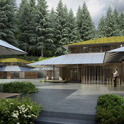 Portland japanese garden expansion plans  cultural villiage entrance hs1mb3