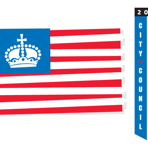 American flag graphic dm2qmv
