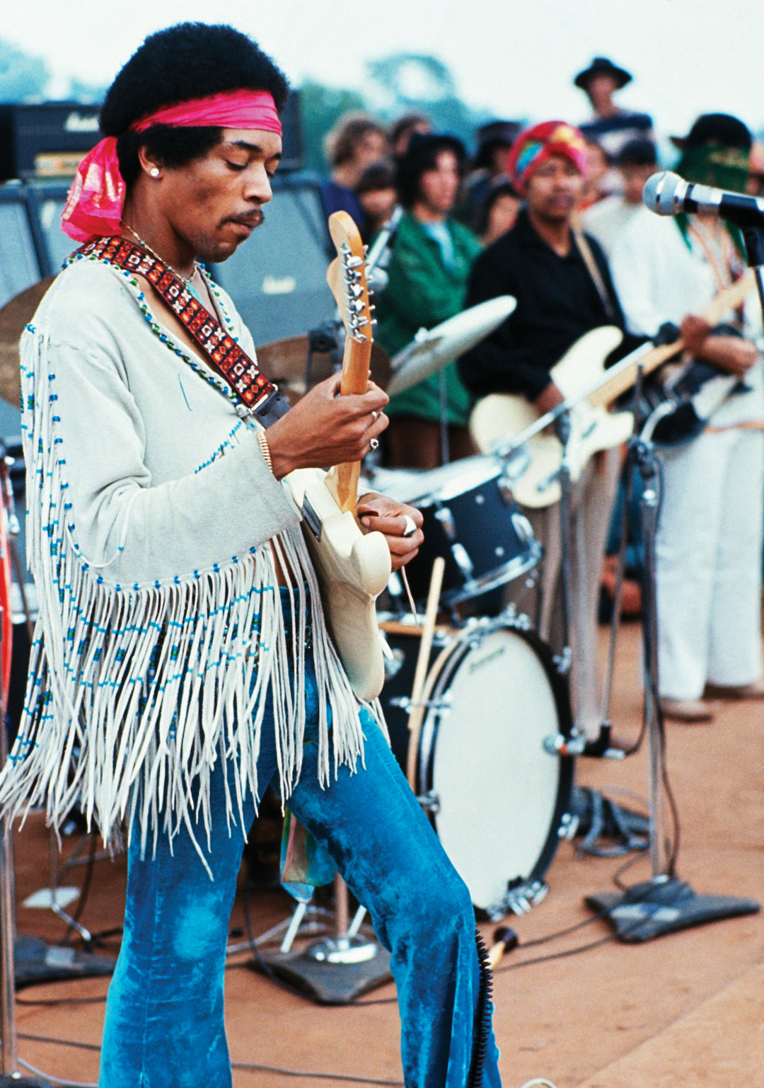 Jimi Hendrix S Star Spangled Banner Turns 50 Seattle Met