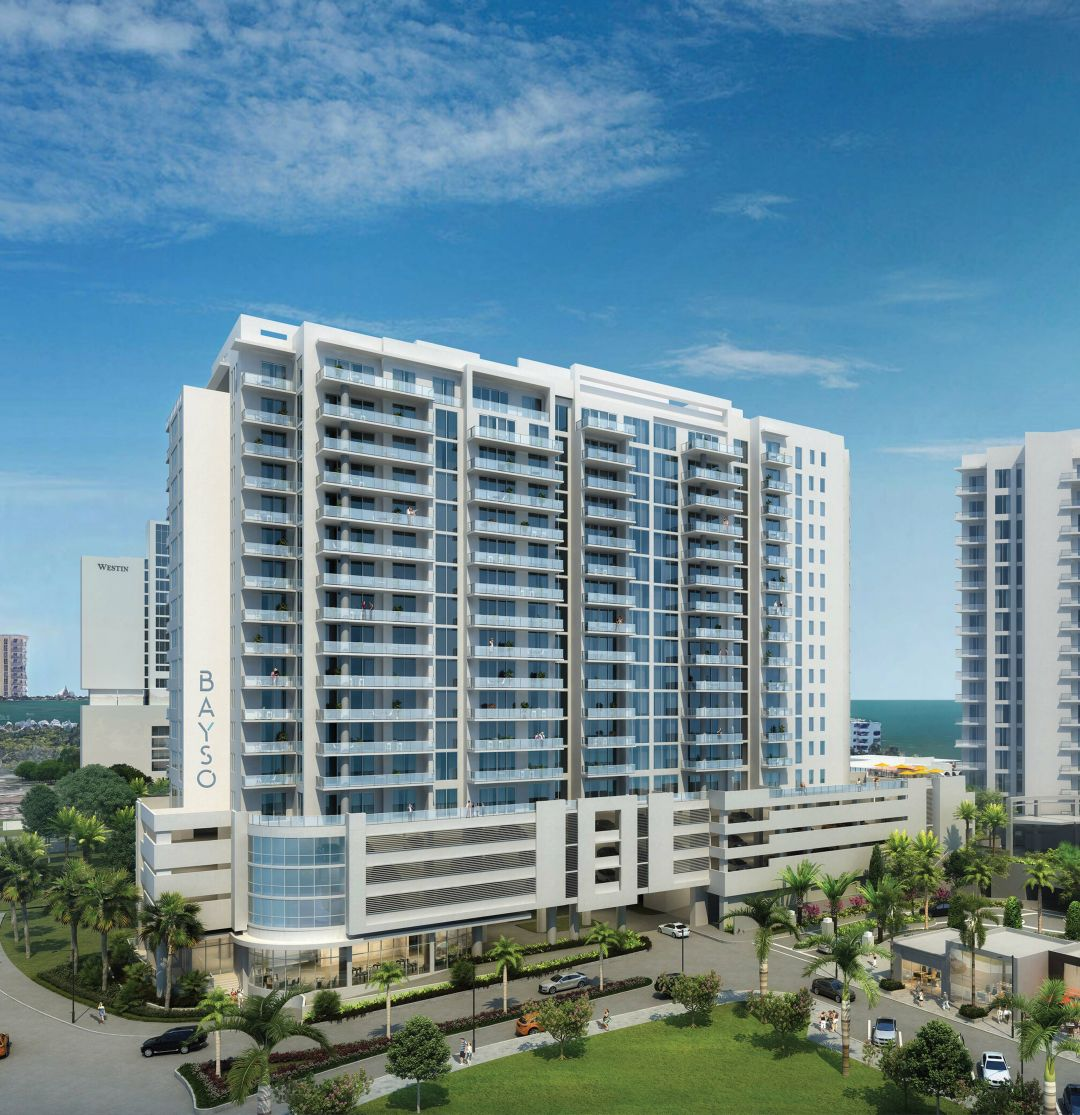A rendering of downtown Sarasota's Bayso
