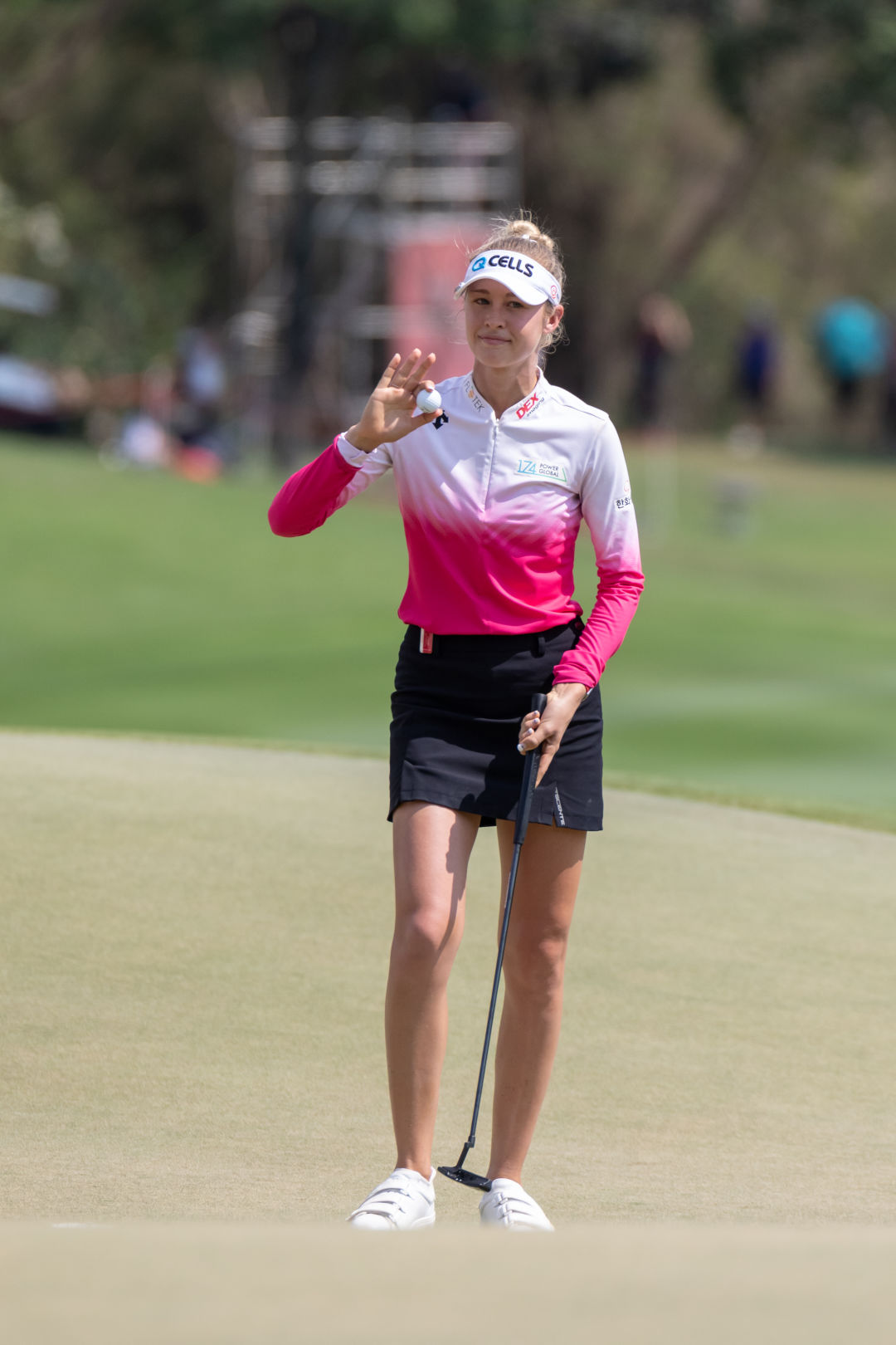 Nelly Korda won a gold medal for Team USA