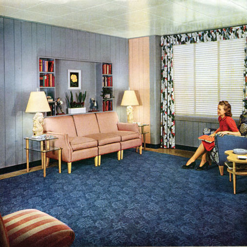Lustron living room promotional photo color copy hdoa94