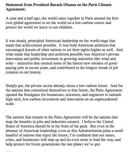 Obama paris statement u9wcm5
