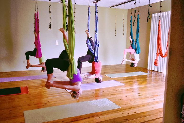 Aerial Yoga Houston Opens New Studio Houstonia Magazine