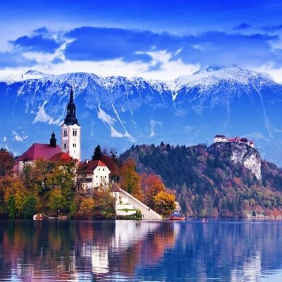 Lake bled slovenia fesus robert xkt9b4
