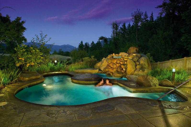 Skamania lodge hot tub idfsvu