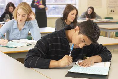 Students taking quiz ijzvrx