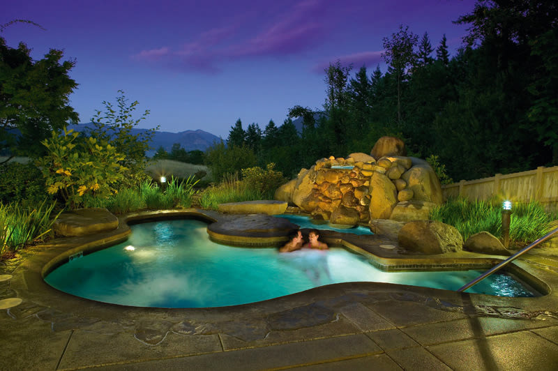 Skamania lodge hot tub idfsvu