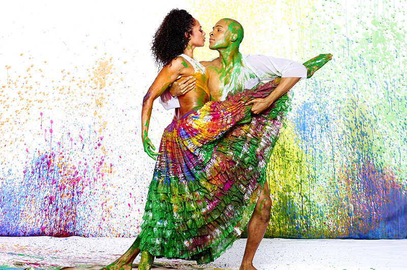 Alvin ailey american dance theater s linda celeste sims and yannick lebrun qwidpu