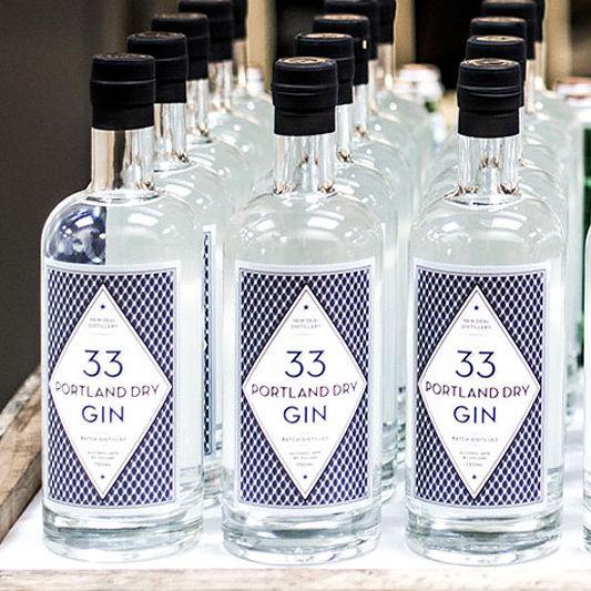 Portland dry gin 33 iemzqg