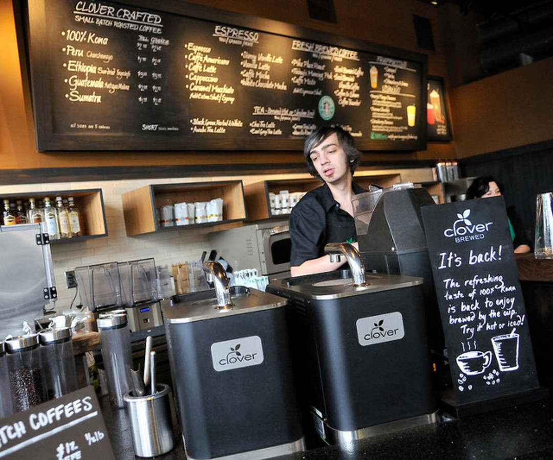 Clover Coffee The Holy Grail Of Caffeine Houstonia