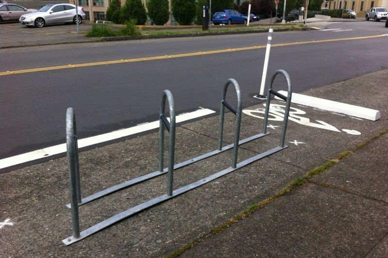 Bike rack boren ave seattle p0m9am