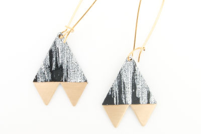 1. brushed pennant earrings   34   baleen cb3cev