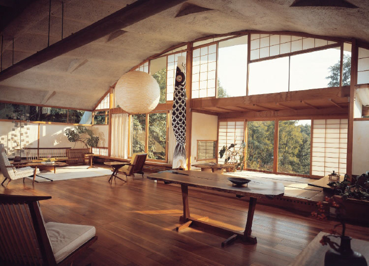 George nakashima was the architect designer philosopher behind the current fashion for live edge furniture