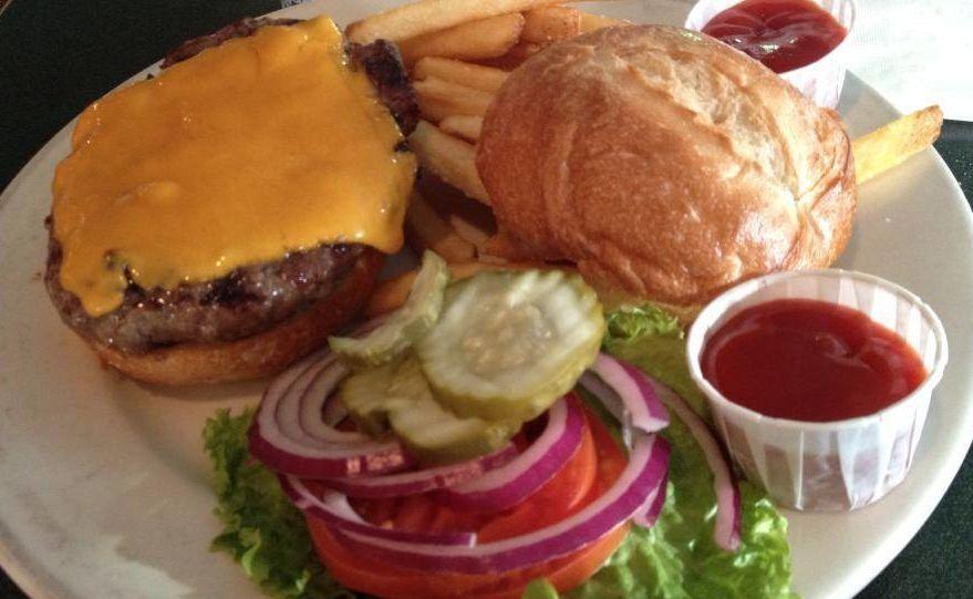 Route six chz. burger qbjgke