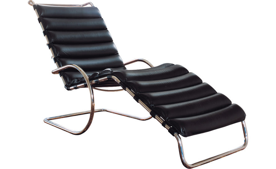 Mr adjustable chaise lounge ludwig mies van der rohe knoll 1 njhtnm
