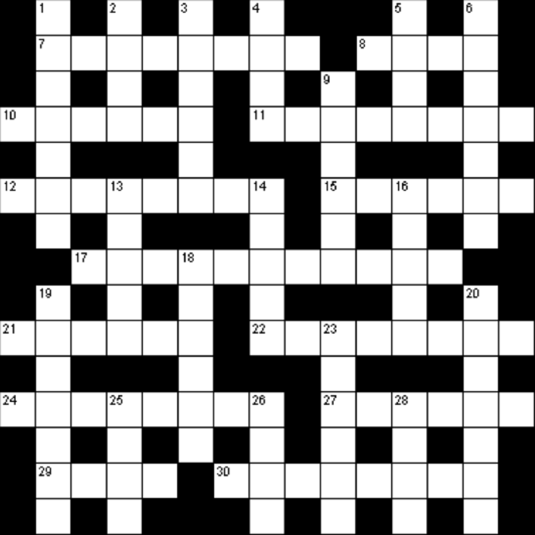 A Custom Crossword Puzzle Portland Monthly