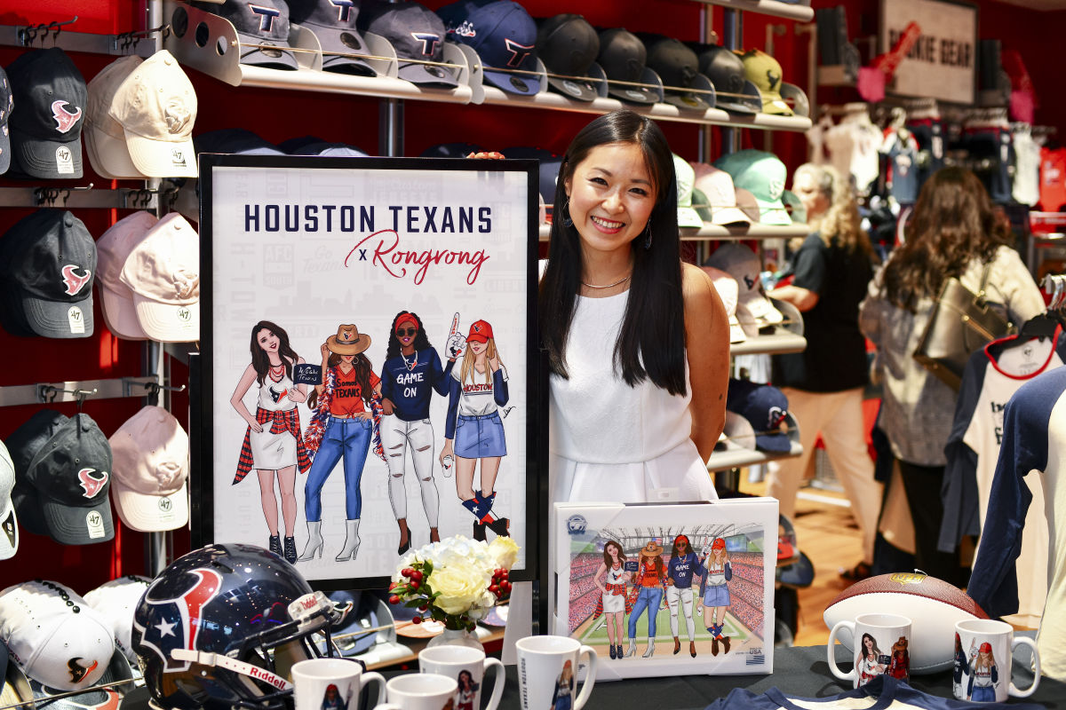 san francisco 01254 cfa60 The Texans Have New Merch Courtesy of Rongrong DeVoe | Houstonia