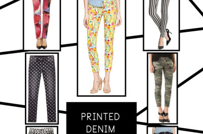 Printed denim oddeq9