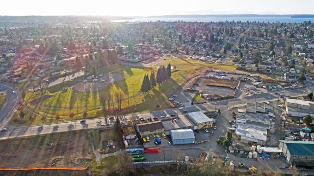 Everett, Washington aerial