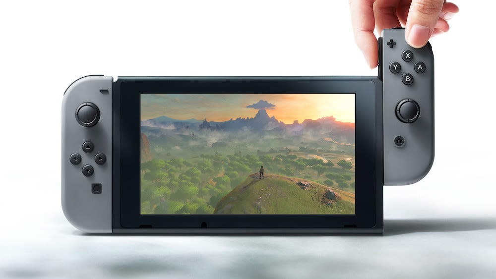 Nintendo switch fzepva