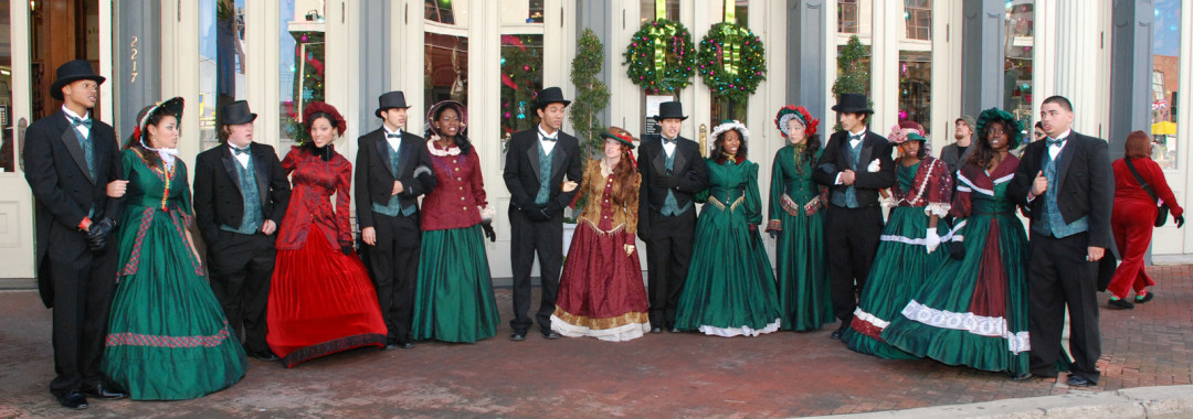 Charles Dickens Comes to Galveston