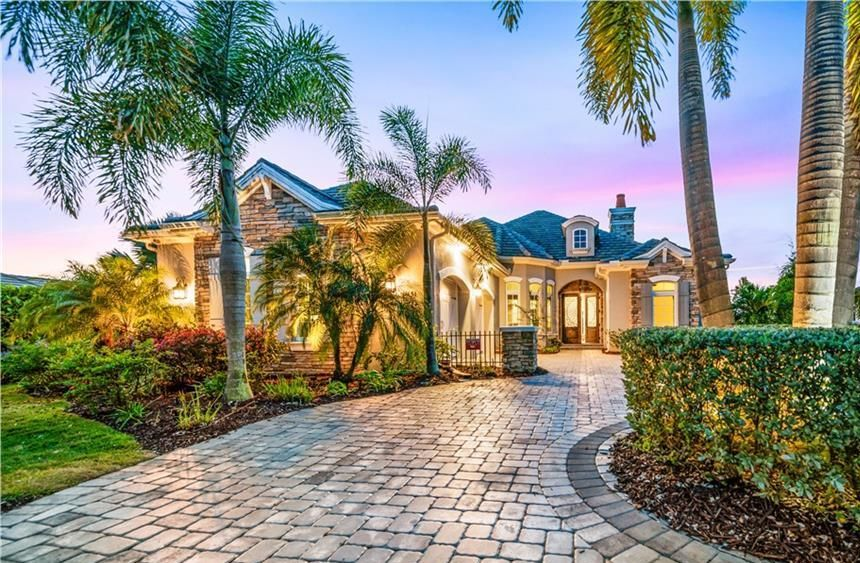 A luxury home in Lakewood Ranch.