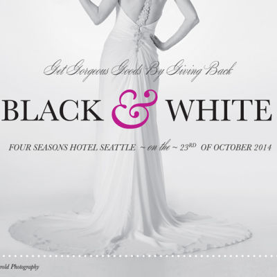Black and white ball 2014 postcard front ajndxc