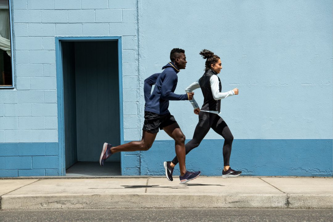 Brooks Running Lifestyle Imagery