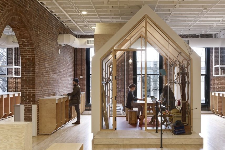 airbnb office london. Can A Call Center Be Showcase For Enlightened Design? | Portland Monthly Airbnb Office London E