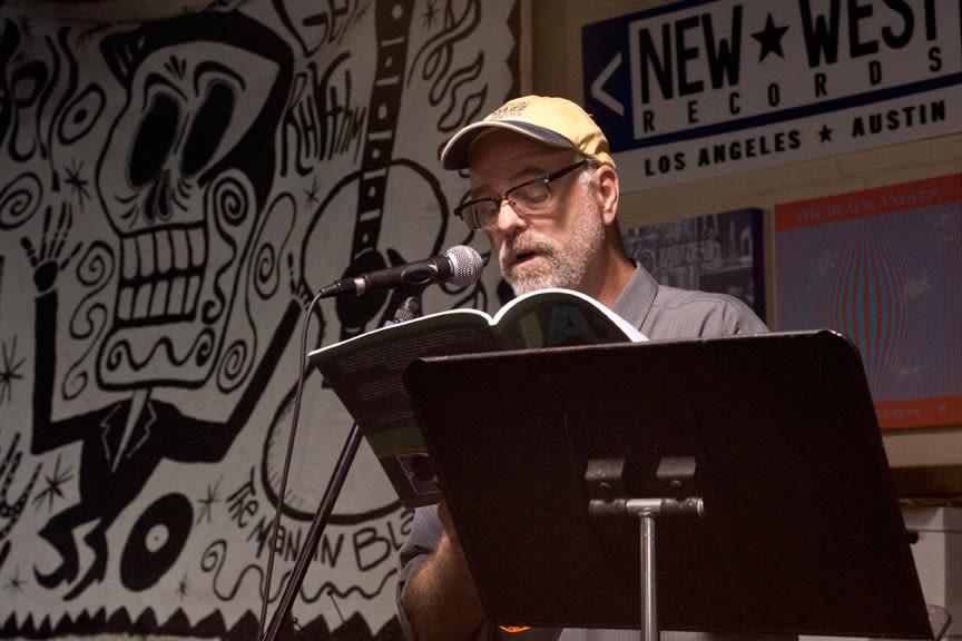 Rick mitchell reading at cactus records lthvsr