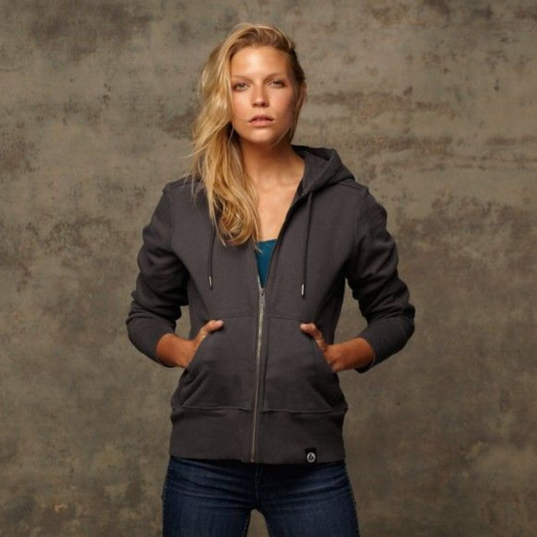 The many design details that go into American Giant's body-hugging hoodies and jackets.