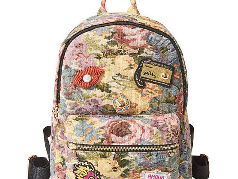 Not ya mamas brocade backpack blush multi addrtw