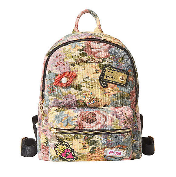 Not ya mamas brocade backpack blush multi addrtw