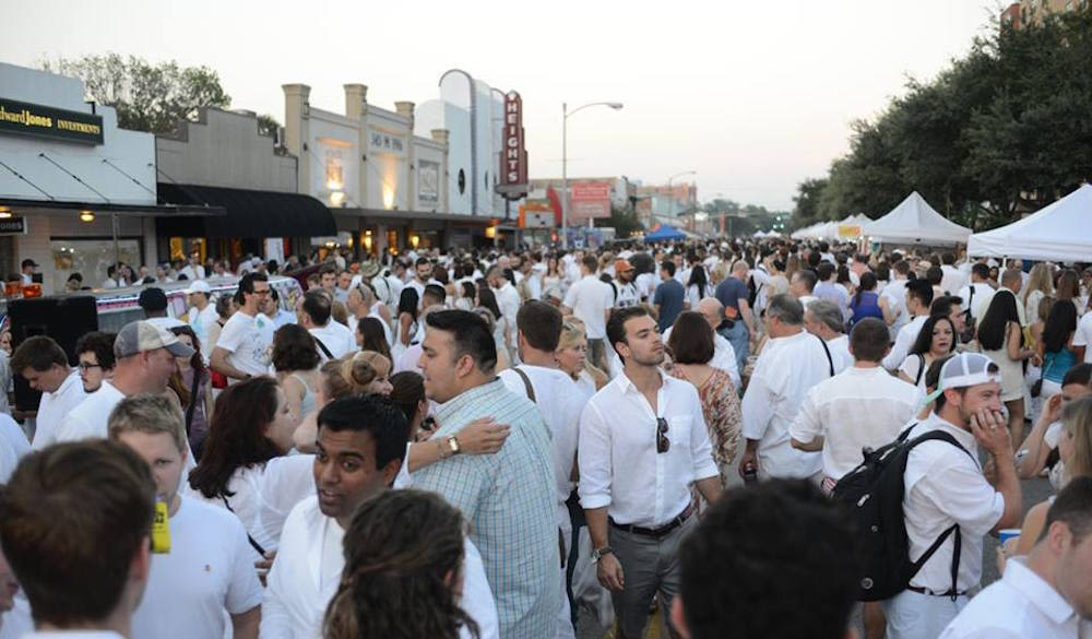 White linen night in the heights 2015 houston wave route wl2fnj