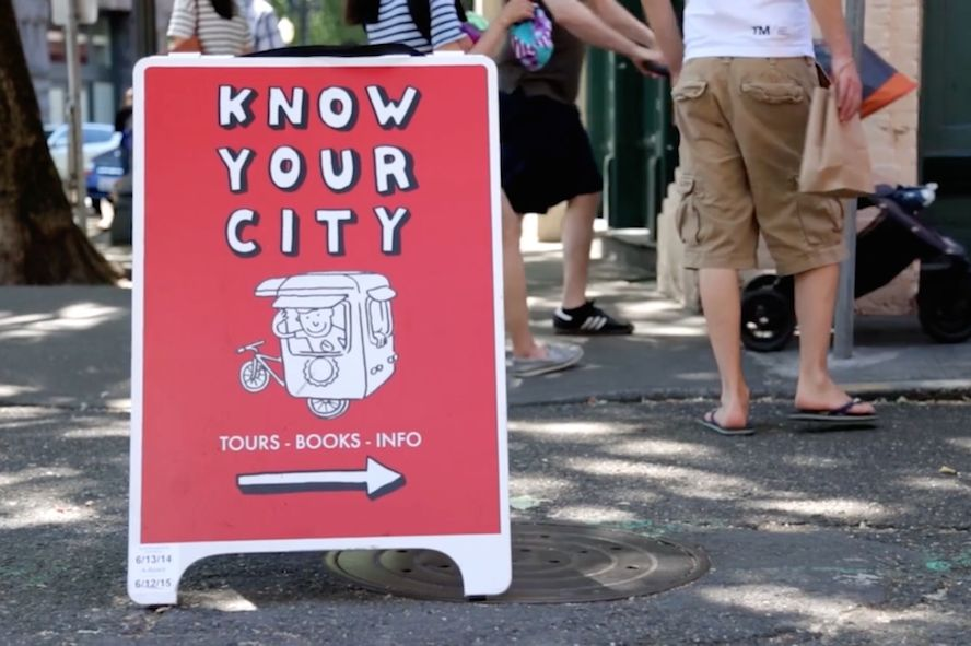 Know your city volunteer crowdfunding ibdgyj