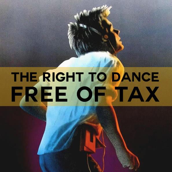Neumos dance tax poster shmeqx